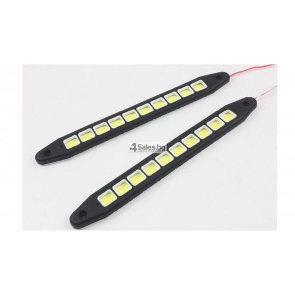 Универсална Силиконова огъваща се дневна светлинна лента XZ-COB CAR DIS LED3 6