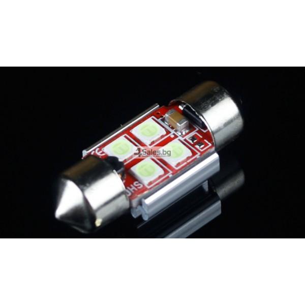 Светодиодни крушки тип 3030 за купето, багажника или като габарити CAR LED9 4