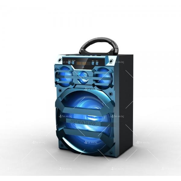 Безжична Bluetooth колонка MS-187BT с Bluetooth FM радио и USB порт 5