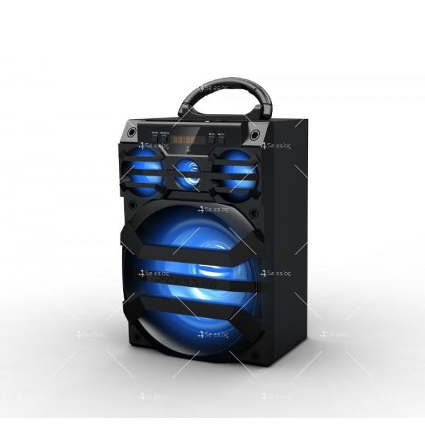 Безжична Bluetooth колонка MS-187BT с Bluetooth FM радио и USB порт 8