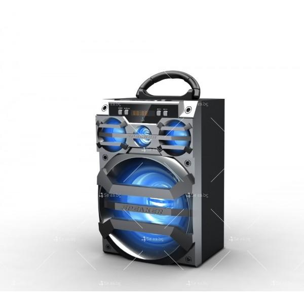 Безжична Bluetooth колонка MS-187BT с Bluetooth FM радио и USB порт 9