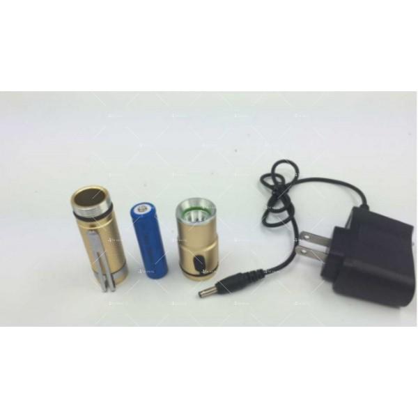 Джобно фенерче CREE с голяма 4800 mAh батерия и силна светлина FL28 6
