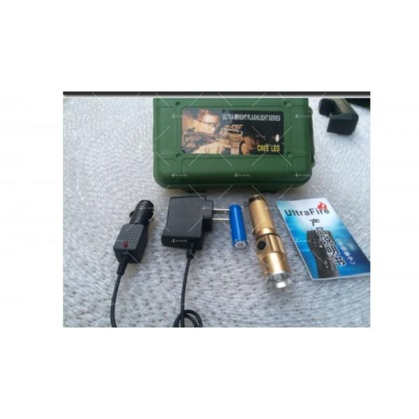 Джобно фенерче CREE с голяма 4800 mAh батерия и силна светлина FL28 10