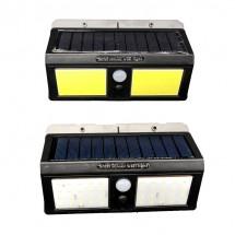 Водоустойчива Соларна Лампа за стена мултифункционална COB светлина H LED-1