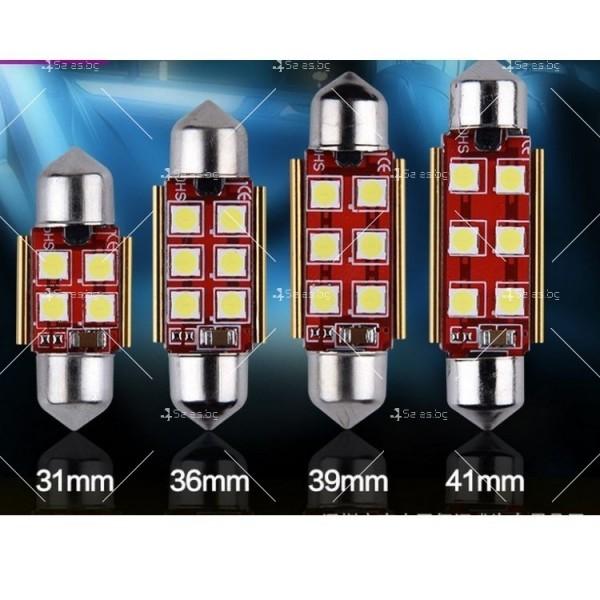 Светодиодни крушки тип 3030 за купето, багажника или като габарити CAR LED9 5