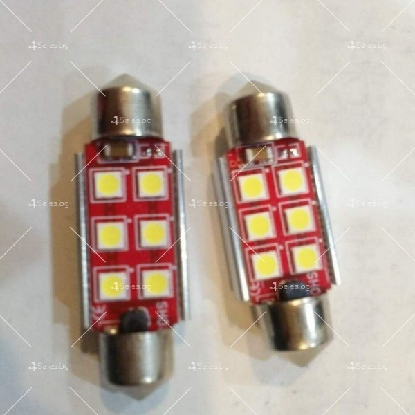 Светодиодни крушки тип 3030 за купето, багажника или като габарити CAR LED9 7