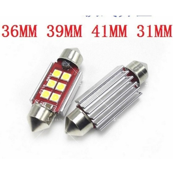 Светодиодни крушки тип 3030 за купето, багажника или като габарити CAR LED9