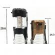 Преносим фенер с LED светлина и соларно зареждане лампа за къмпинг CAMP-LAMP-2 2