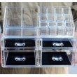 Функционален прозрачен органайзер за гримове в две части TV104 6