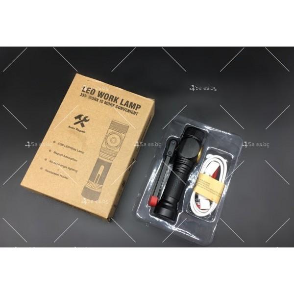 Сгъваем, ярък и енергоспестяващ фенер осветяване на 360 градуса и USB FL35 3
