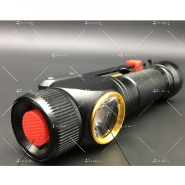 Сгъваем, ярък и енергоспестяващ фенер осветяване на 360 градуса и USB FL35 6