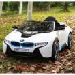 Едноместна детска кола с акумулаторна батерия лицензиран модел на BMW I8 1