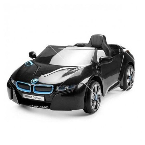 Едноместна детска кола с акумулаторна батерия лицензиран модел на BMW I8 3
