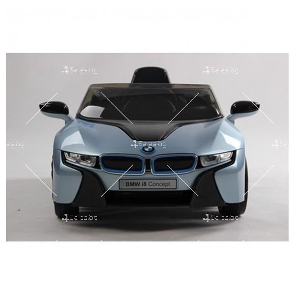 Едноместна детска кола с акумулаторна батерия лицензиран модел на BMW I8 4