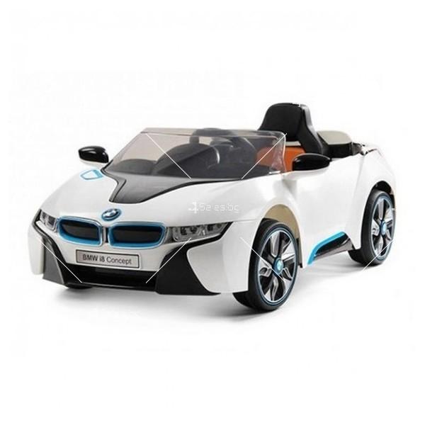 Едноместна детска кола с акумулаторна батерия лицензиран модел на BMW I8
