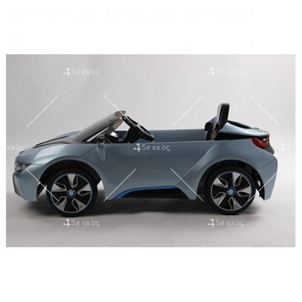 Едноместна детска кола с акумулаторна батерия лицензиран модел на BMW I8 15