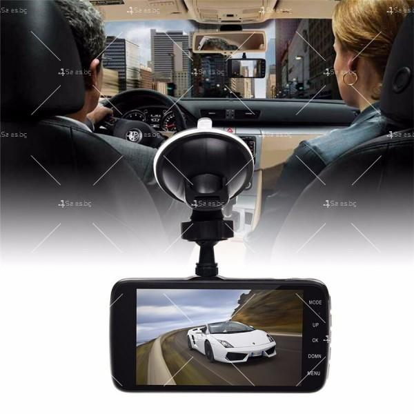 Мултифункционална DVR система за кола с LCD дисплей и парктроник - AC54 4