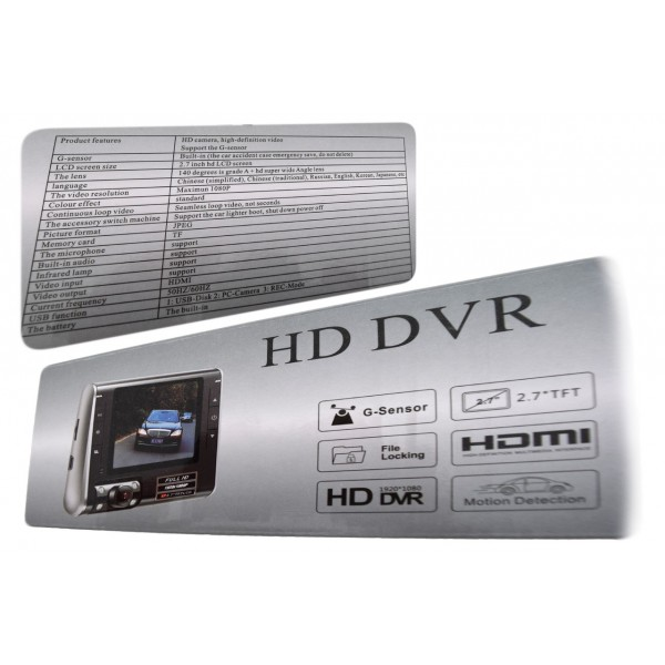 Видеорегитратор K8000 с HDMI порт AV порт Night Vision -12Mpx AC16 4