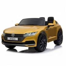 Двуместна детска кола с акумулаторна батерия реплика на Volkswagen Arteon