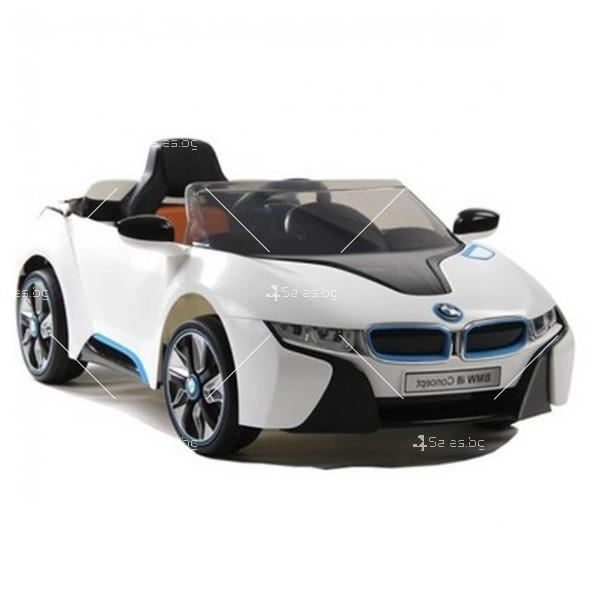 Едноместна детска кола с акумулаторна батерия лицензиран модел на BMW I8 5