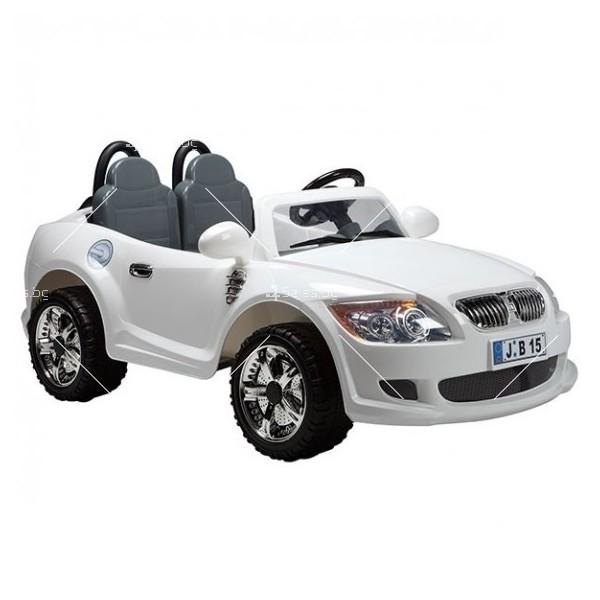 Двуместна детска кола с акумулаторна батерия реплика на BMW B15