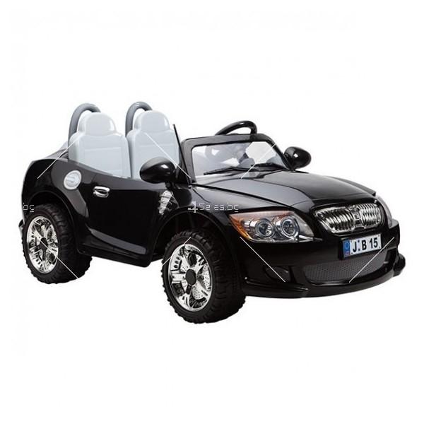 Двуместна детска кола с акумулаторна батерия реплика на BMW B15 2