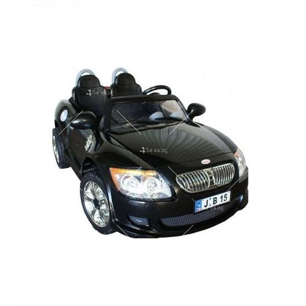 Двуместна детска кола с акумулаторна батерия реплика на BMW B15 4