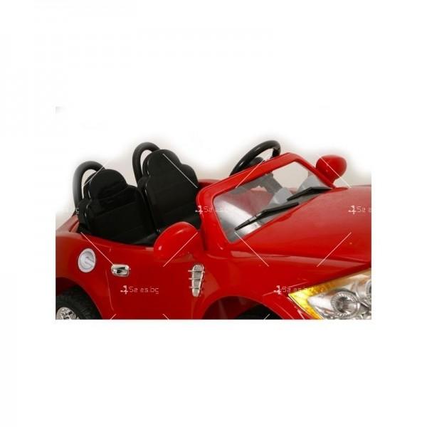 Двуместна детска кола с акумулаторна батерия реплика на BMW B15 8