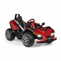 Едноместен детски състезателен автомобил с батерия реплика на Polaris SlingshotRC