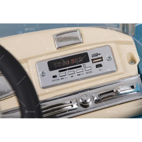 Детска кола с акумулаторна батерия детайлна реплика на Mercedes 300S 4