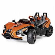 Двуместен детски състезателен автомобил с батерия реплика на Polaris Slingshot
