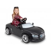 Детска кола с акумулаторна батерия луксозен дизайн реплика на Audi R8 Spyder