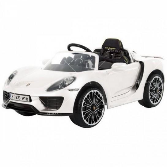 Детска кола с акумулаторна батерия реплика на Porsche918 Spyder Hybride Supercar