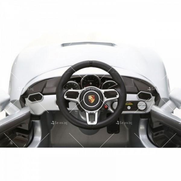 Детска кола с акумулаторна батерия реплика на Porsche918 Spyder Hybride Supercar 4