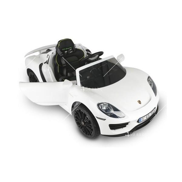 Детска кола с акумулаторна батерия реплика на Porsche918 Spyder Hybride Supercar 7