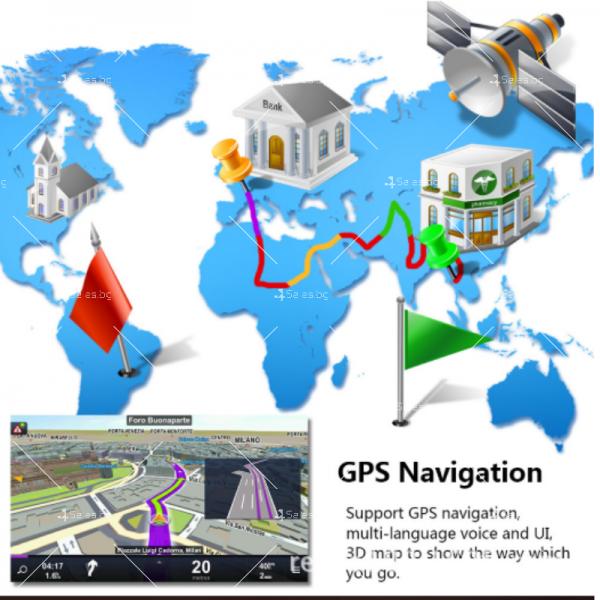 Мултимедиен плеър за автомобил с прибиращ се екран AUTO RADIO-3 NEW 6