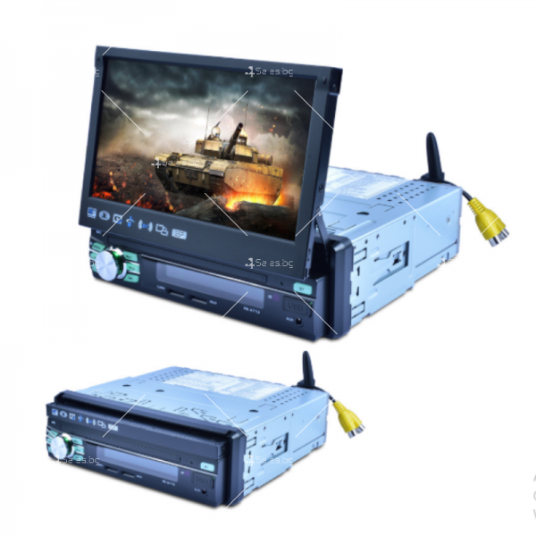 Мултимедиен плеър за автомобил с прибиращ се екран AUTO RADIO-3 NEW 11