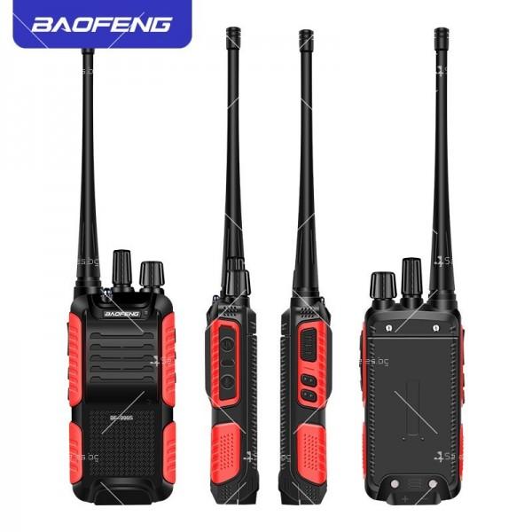 Портативна уоки-токи радиостанция модел BF-999S с 16 канала 5