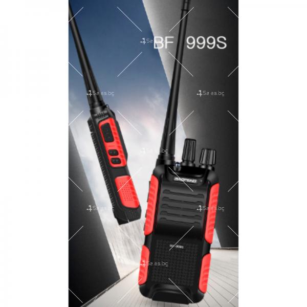 Портативна уоки-токи радиостанция модел BF-999S с 16 канала 6