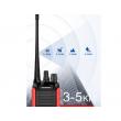 Портативна уоки-токи радиостанция модел BF-999S с 16 канала 7