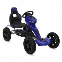 Картинг детска кола с педали, 2 скорости и меки гуми за перфектно сцепление