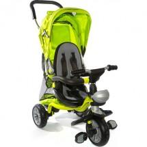 Триколка за деца с родителски контрол, сенник и меки гуми Chic 4 в 1