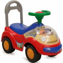 Детска кола за бутане с музикално табло и LED светлини SPACE TOLOCAR