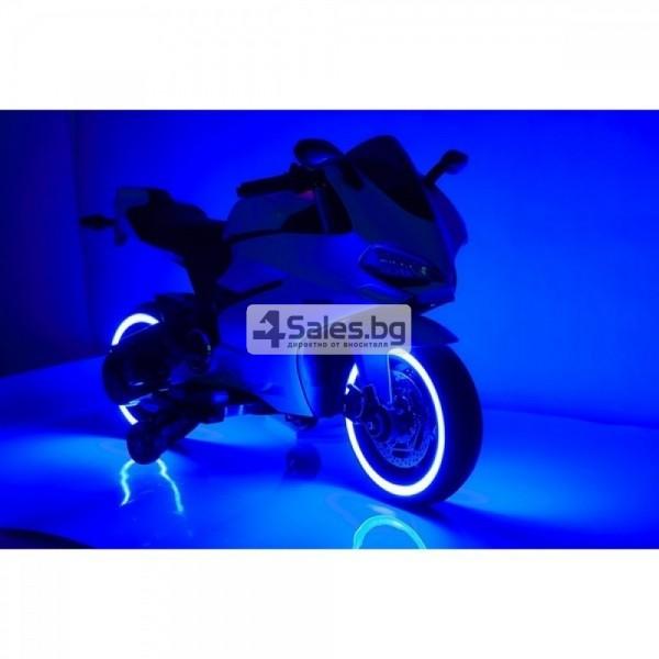 Мотор за деца с MP3, USB, LED светлини и 2 скорости 6