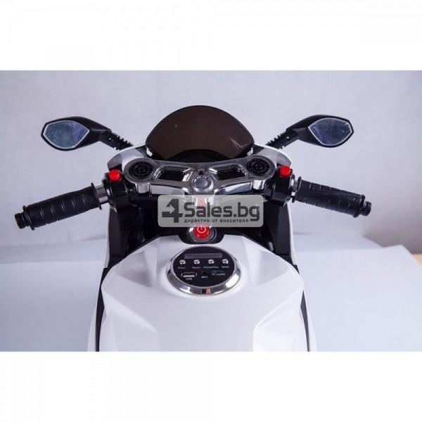 Мотор за деца с MP3, USB, LED светлини и 2 скорости 7