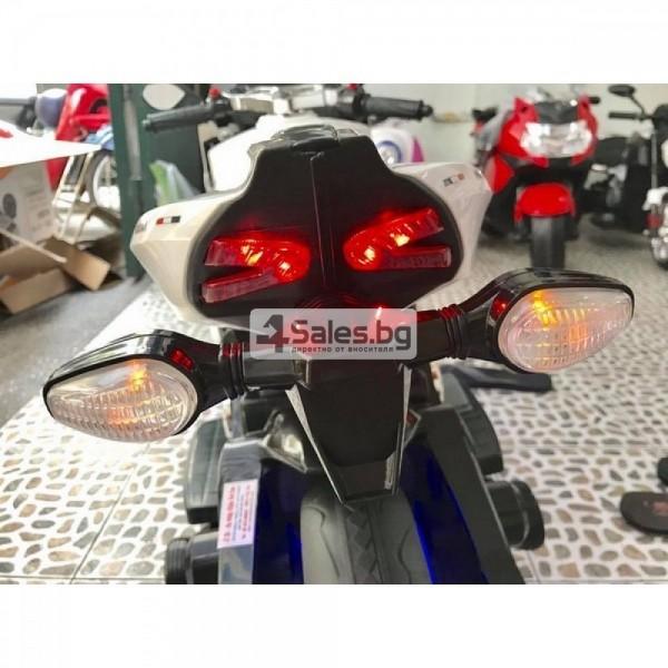 Мотор за деца с MP3, USB, LED светлини и 2 скорости 8
