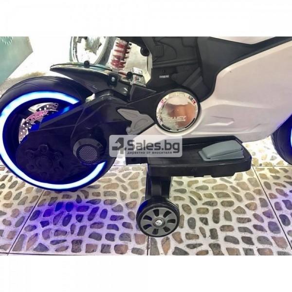 Мотор за деца с MP3, USB, LED светлини и 2 скорости 9