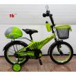 Детски велосипед с помпащи се гуми, огледало , звънец и багажник Scoutt 2