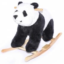 Детска плюшена панда за яздене 2 в 1