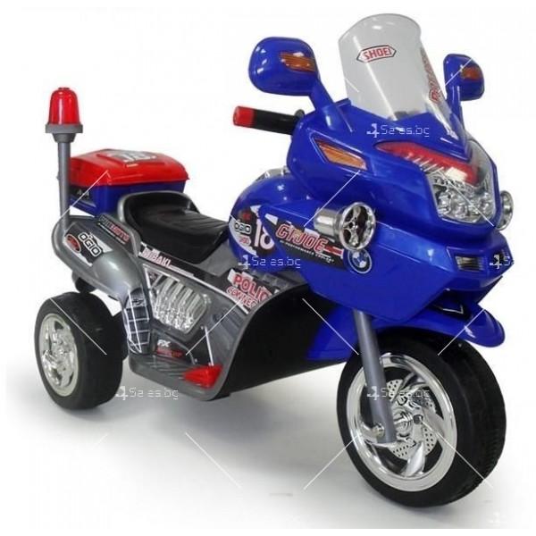 Полицейски мотор с 2 скорости -12V 3